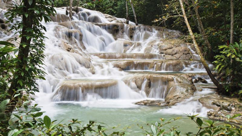 Featured Destination: Dunn's River Falls, Jamaica