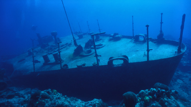Pirate Diving in Grand Cayman