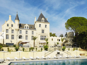 Write in France in historic Chateau Les Carrasses