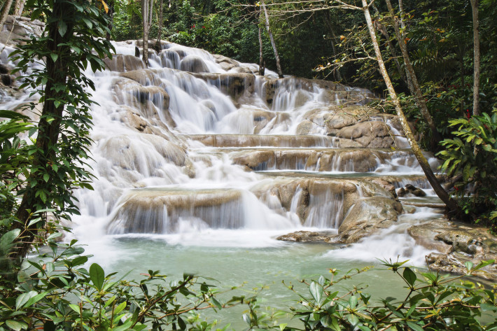 Featured Destination: Dunn's River Falls, Jamaica